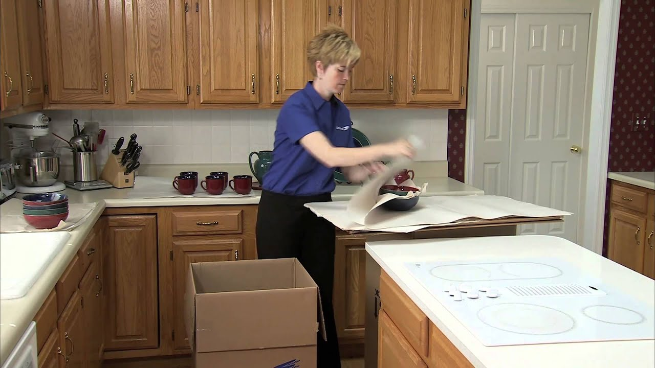 Moving Tips   Unitedu0027s Expert Advice: How To Pack Your Kitchen   YouTube