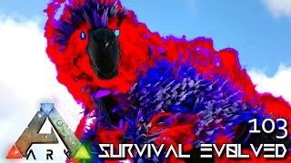 ARK: SURVIVAL EVOLVED - MYTH BLADE & WU KONG E103 !!! ( ARK EXTINCTION CORE MODDED )