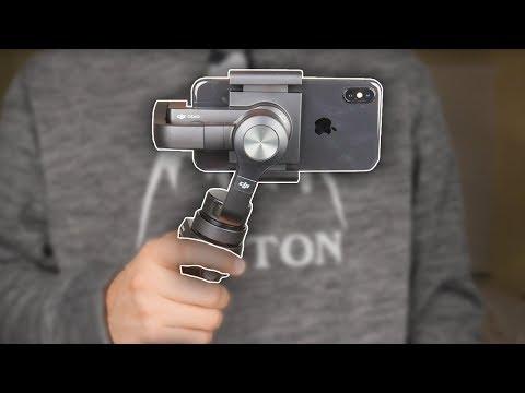 IPhone X And DJI Osmo Mobile