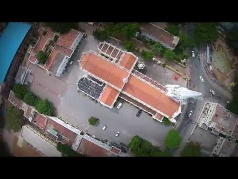 Santhome Church - Aerial shots