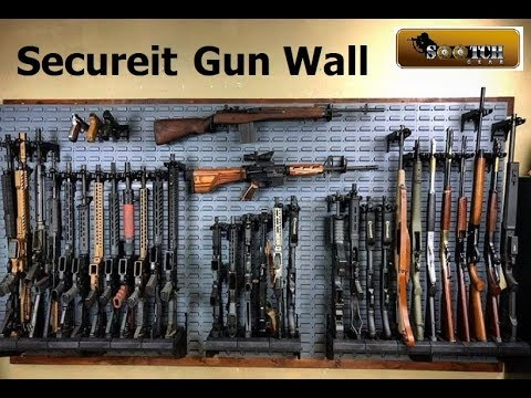 The Gun Room Secureit Wall Armory Kit Youtube