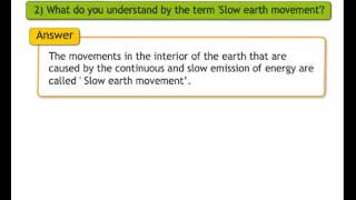 E-class Std 8 Geography Question and Answer English