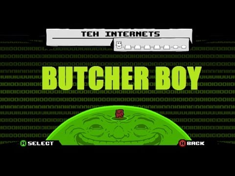 Super Meat Boy - DLC: BUTCHER BOY (Teh Internets) streaming vf