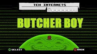 Super Meat Boy - DLC: BUTCHER BOY (Teh Internets)