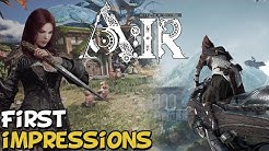 "Ascent Infinite Realm A:IR New MMORPG First Impressions ""Is It Worth Playing?"""