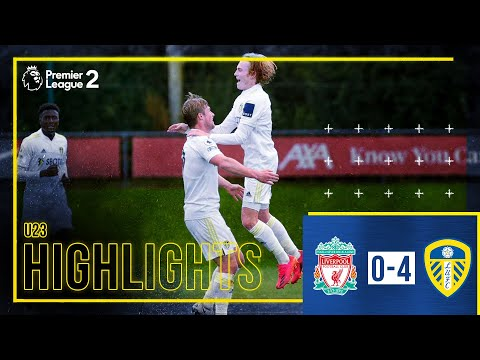 Summary: Liverpool U23 0-4 Leeds United U23 |  GELHARDT SCORES FROM HALFWAY!  |  Premier League 2
