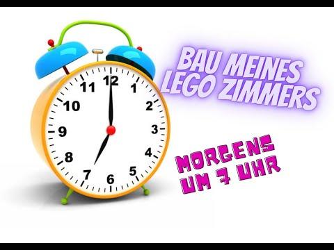 Bau meines LEGO Zimmers Teil 23 - Morgens 7 Uhr