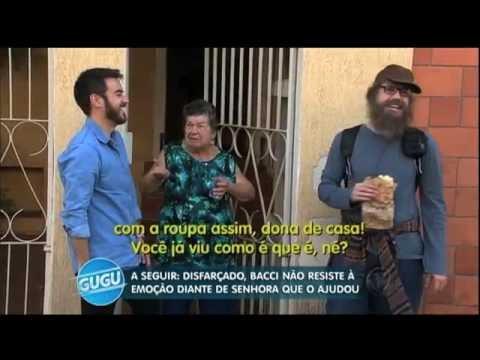 Luiz Bacci passa por Teste da Vida Real e se emociona nas ruas de São Paulo
