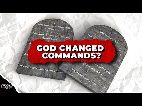 How can God's commands change?