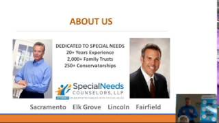 Special Needs Trusts Workshop @ Parents Empowering Parents w/ Michael Pearce [Part One]