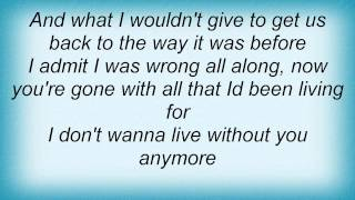 Watch Josh Gracin I Dont Want To Live video
