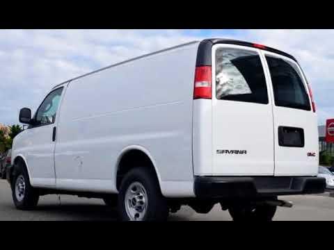 New 2017 GMC Savana Cargo Van For Sale In Kelowna BC