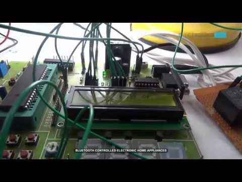 Bluetooth Controlled Electronic Home Appliances