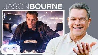 Matt Damon Breaks Down His Most Iconic Characters | GQ