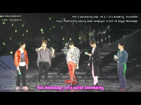"""[ENG] 170408 SHINee """"Bullying"""" Jjong on his Birthday"""