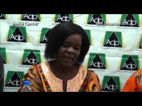 African Democratic Party, Press Conference at Media Centre