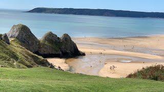 Three Cliffs Bay, Swansea, Wales