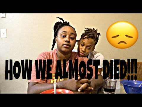 HOW WE ALMOST DIED IN A CAR ACCIDENT!!!!