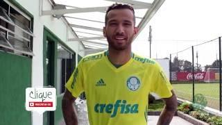 Leandro Pereira treina e manda recado para a torcida