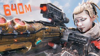 *WORLD RECORD* 640m SNIPER SHOT!! | Best Apex Legends Funny Moments and Gameplay - Ep. 216