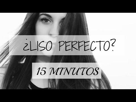 Cómo tener el pelo liso perfecto en 15 minutos | tutorial | ZAIDA MESTRE