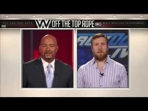 "WWE ""Off The Top Rope"" segment on ESPN SportsCenter with Jonathan Coachman Featuring Daniel Bryan"