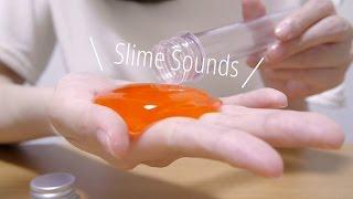 [ASMR] スライムで遊ぶ音 #1 Slime Sounds [囁き声-Whisper] thumbnail