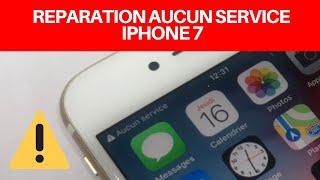🇫🇷Reparation : probleme réseau iPhone 7 / 7 Plus aucun service ou recherche en cours carte mere