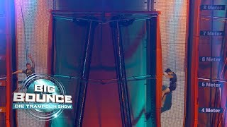 Big Bounce - Die Trampolin Show | Final-Run Lorenz Wetscher vs. Simon Brunner | Finale vom 02.03.
