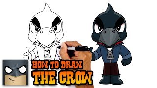 How to Draw Crow | Brawl Stars