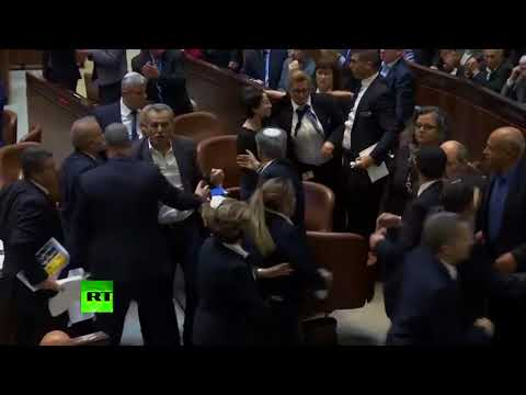 Brawl breaks out in Knesset as Mike Pence addresses Israeli Parliament