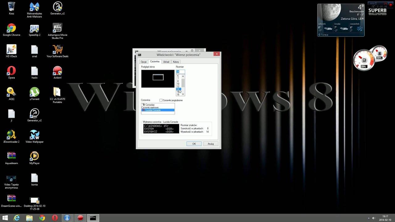 Wiersz Polecenia Powiększenie Okna Windows 8