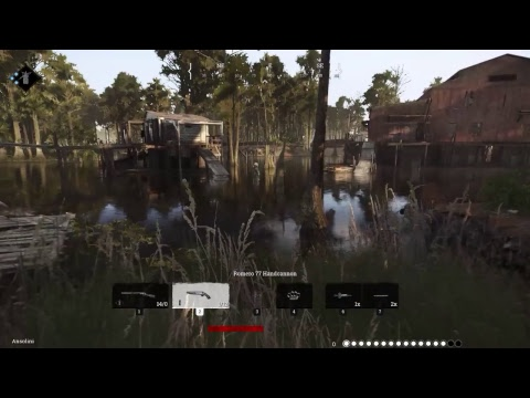 HUNT:Showdown Closed-Alpha gameplay uncut RAW