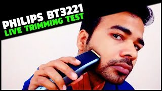 Philips BT3221 Trimmer Review | Best Hair and Beard Trimmer For Men 2019 Amazon