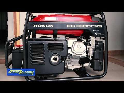 Cómo hacer funcionar un generador portátil Honda en casa thumbnail