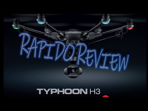 YUNEEC TYPHOON H3 QUICK REVIEW ESPANOL #yuneectyphoonh3