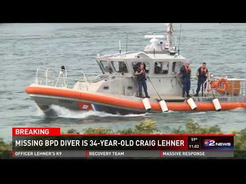 Buffalo Police search for missing police diver