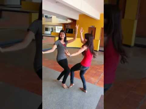 girl's Funny Bali dance