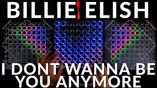 Billie Eilish - idontwannabeyouanymore (Elijah Hill Remix) Triple Launchpad Performance