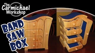 How To Make A Jewelry Box With A Bandsaw - Free Easy Diy Woodworking Project Plans