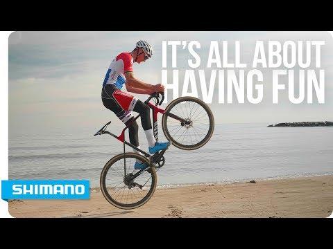 It's All About Having Fun - Mathieu Van Der Poel   SHIMANO