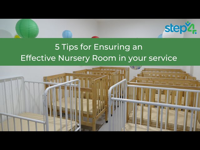 Quick and easy tips for creating an effective Nursery room