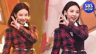 SBS  - 트와이스 '나연' YES or YES 직캠 / SBS 'INKIGAYO' TWICE 'NA YEON' FanCam