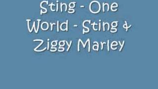 Sting - One World - Sting & Ziggy Marley