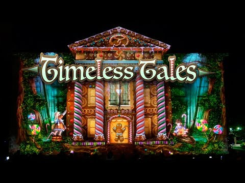 Timeless Tales - Building Projection for LUMA Festival Binghamton by Maxin10sity