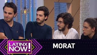 Morat Tells How They're Going To Take Over America  Latinx Now!  E! News