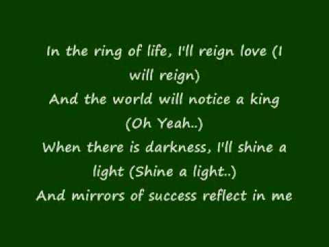 R. Kelly - The World's Greatest (lyrics) Read description and answer the question