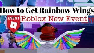 Comment obtenir Rainbow Wings (fr) Roblox Nouvel événement