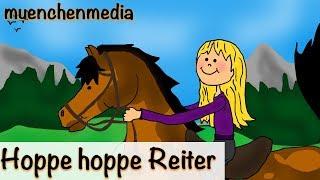 Kinderlieder deutsch - Hoppe hoppe Reiter - Kinderlieder zum Mitsingen