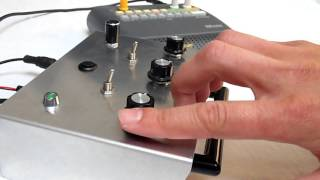 RC CIRCUIT BENT 'GLITCH DISRUPTOR' OVERDRIVE DISTORTION EFFECTS UNIT RHYTHMIC DRONE FOLLOWER SYNTH